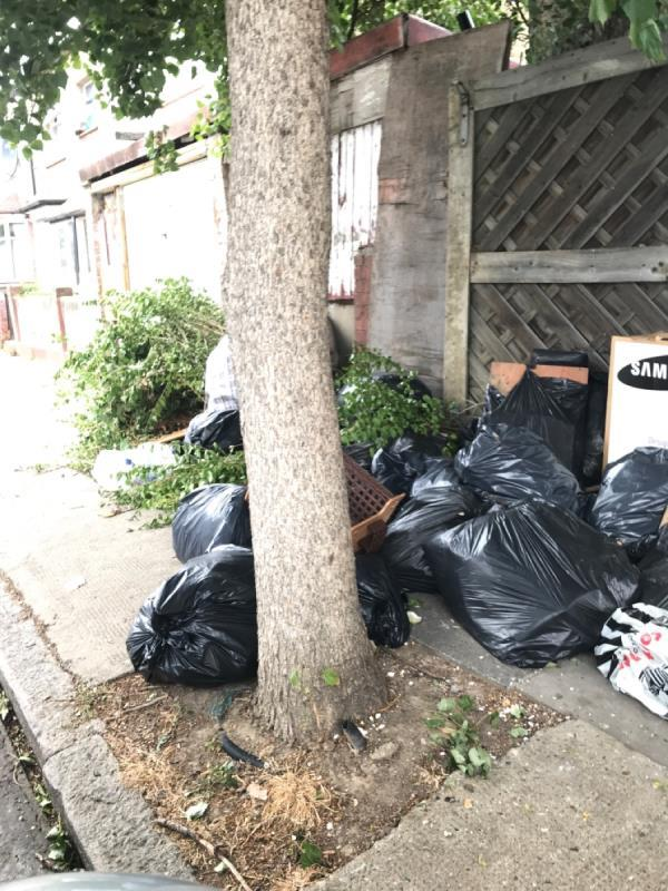 Builders and garden waste -120 Holland Road, East Ham, E6 2EP