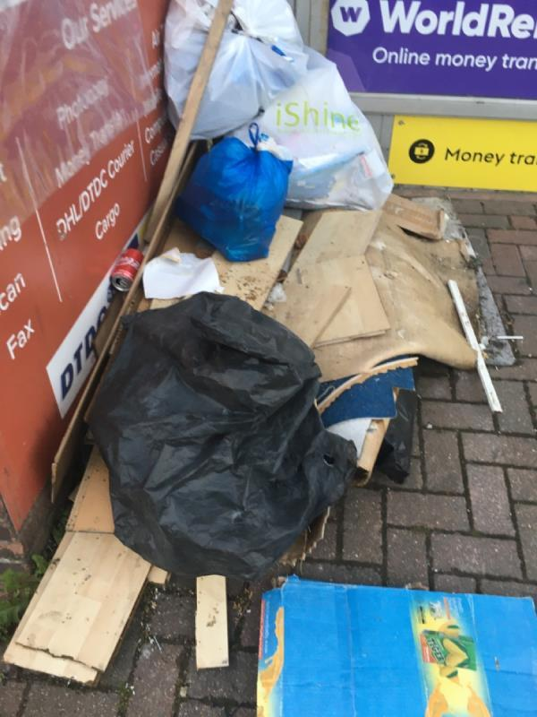 Rubbish -233a Plashet Road, Plaistow, E13 0QU