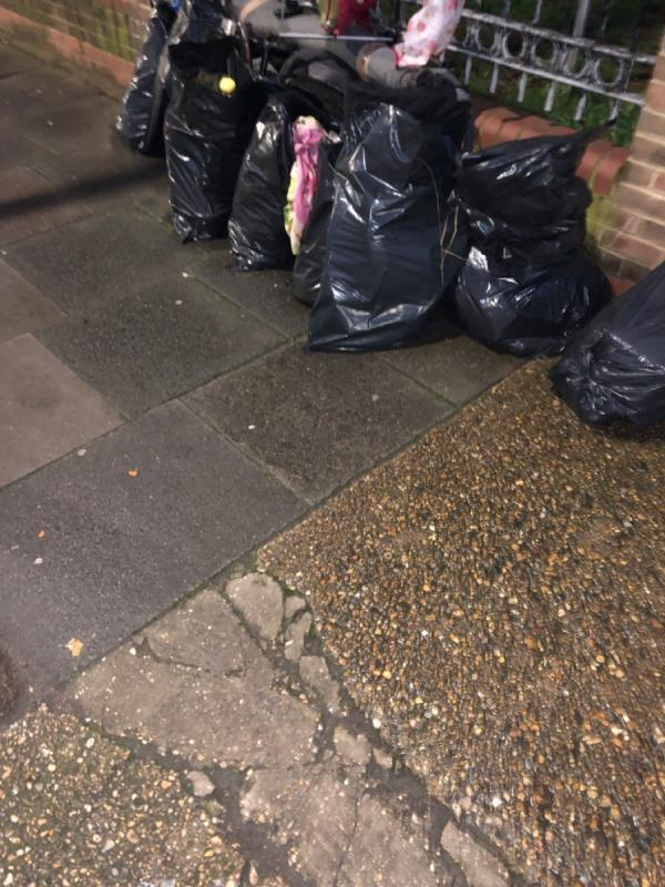 Fly tipping-6 Flanders Road, London, E6 6DY