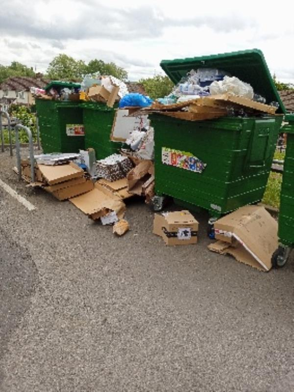 contaminated recycling/excess waste 203 Wensley road-320 Wensley Road, Reading, RG1 6ED