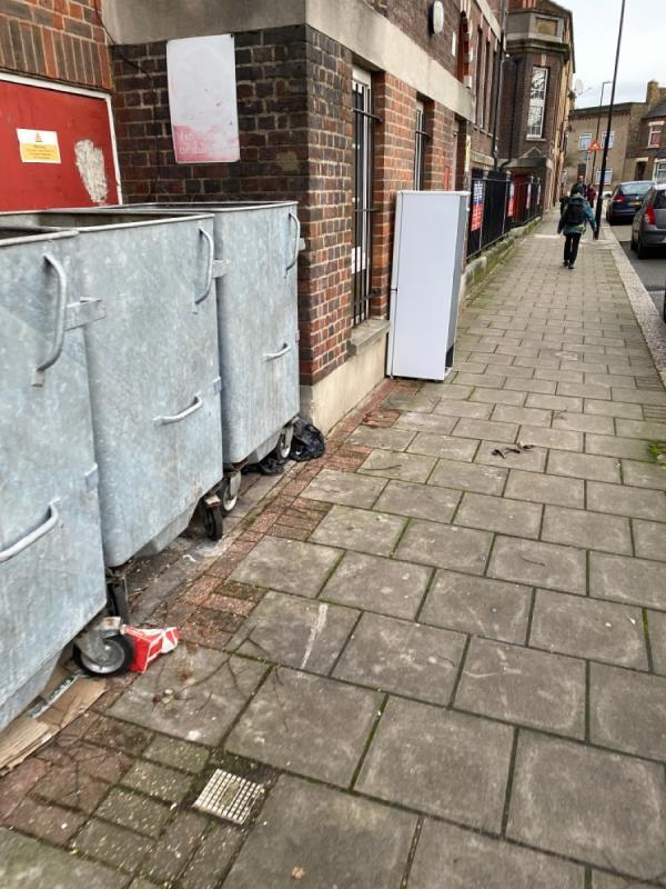 Fly tipping -12 Florence Road, London, E13 0DP