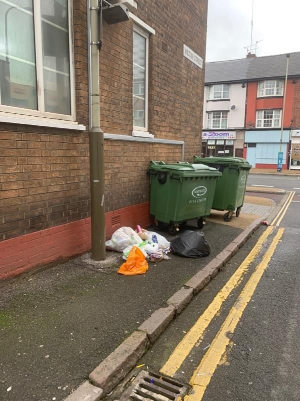 More rubbish in streets -169 Belgrave Gate, Leicester, LE1 3HS