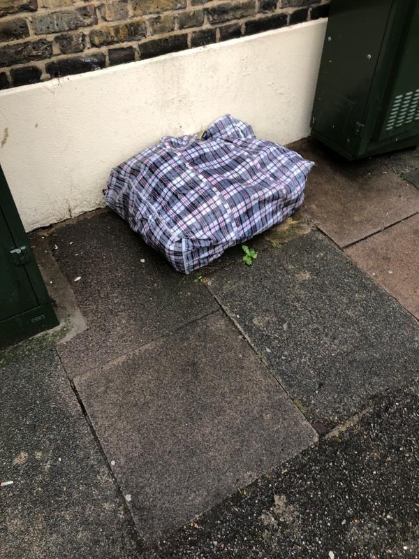 Fly tipping-27 Flanders Rd, East Ham, London E6 6DX, UK