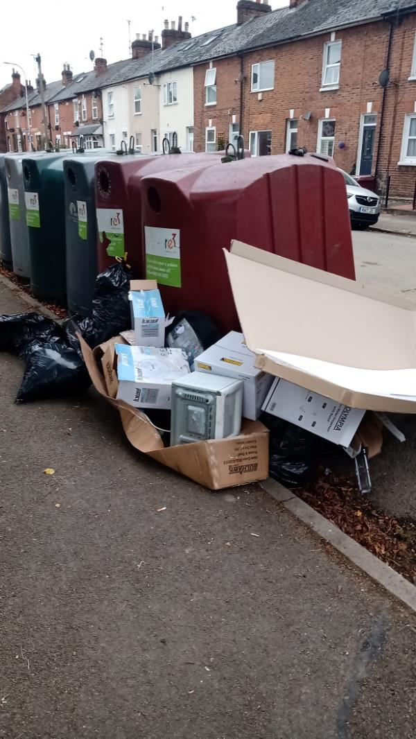 A lot of misc rubbish-94 George Street, Reading, RG1 7NP