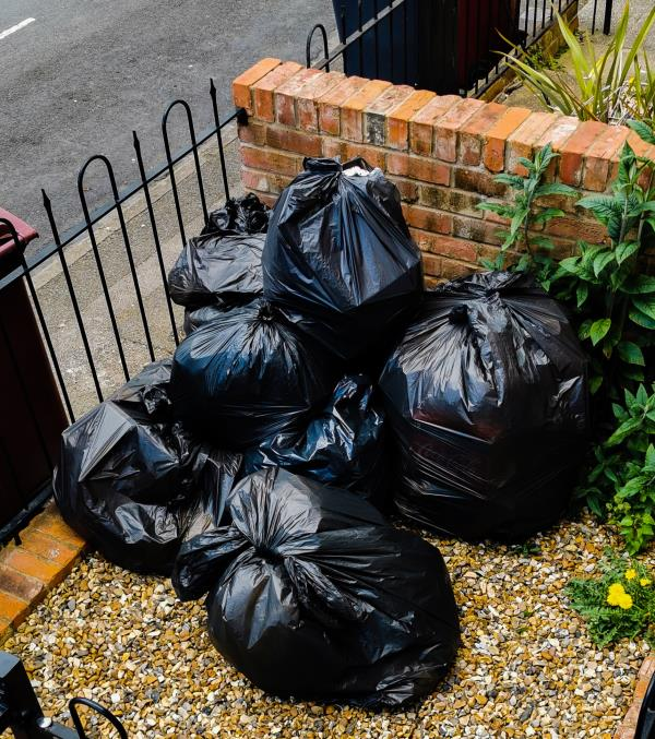 Bins overflowed. Please come and collect. This is the second report that has been sent.