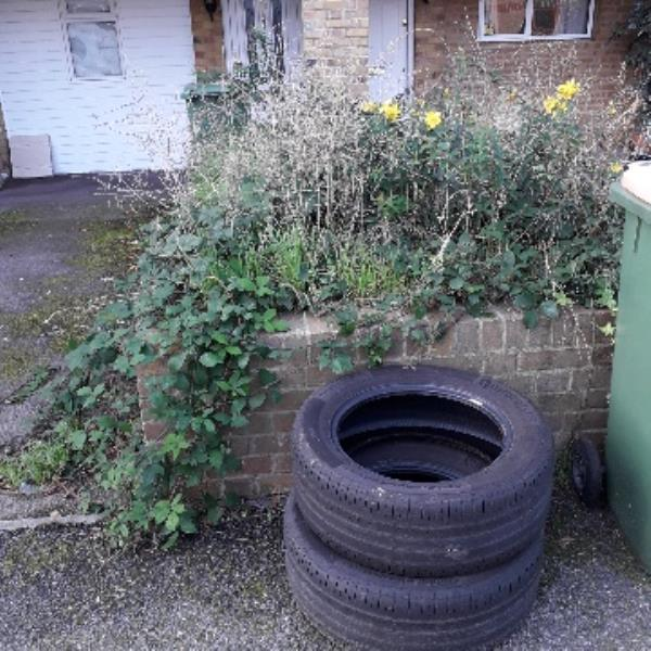 2 tyres-113 Clarence Road, London, E12 5BB