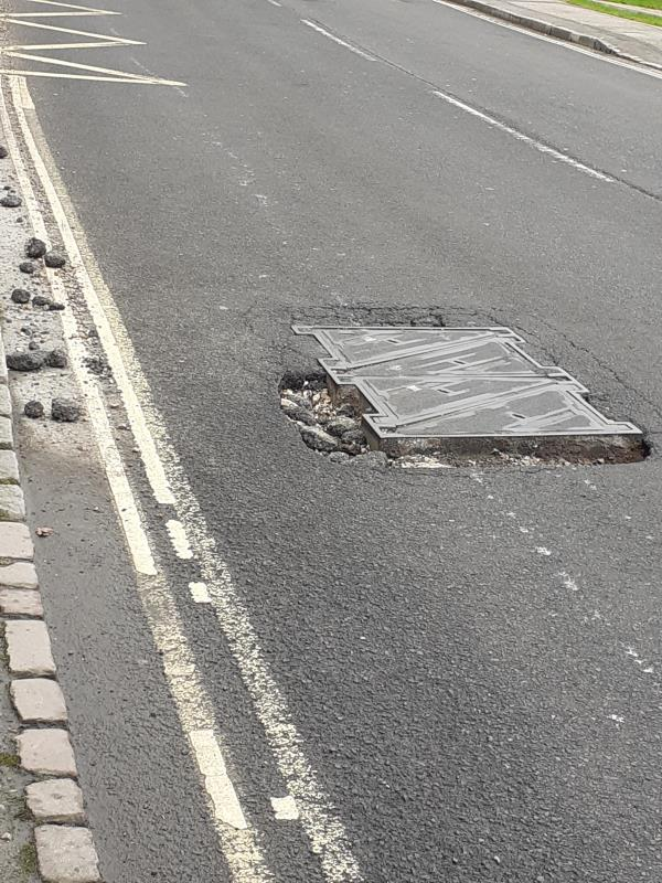 In the section of Keymer Road between the roundabout at the top of station hill to Folders Lane there are a number of very large potholes some around manhole covers and some just in the road. These potholes and road surface damage is all in a section of the road which was resurfaced in the last couple of years. Some areas look like the road has not bonded to the original road surface. Some of the potholes are very  dangerous to cyclists and also to other road users as they are having to swerve to avoid  the holes.-Chelford Keymer Road, Burgess Hill, RH15 0EF