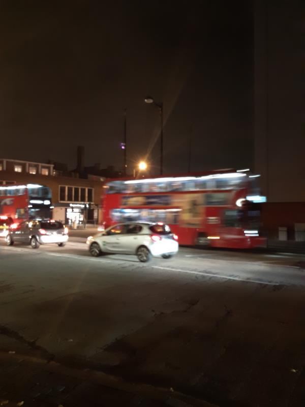 6 street lights are off in junction. awfully dark image 1-Ralph Jackson House, 331 Romford Rd, Forest Gate, London E7 8AA, UK