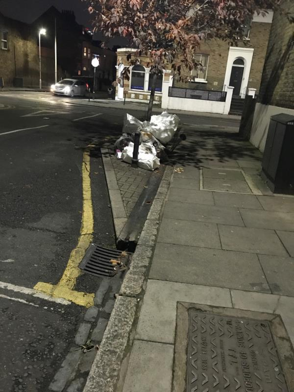 Dumped rubbish -22a Water Lane, London, E15 4NL