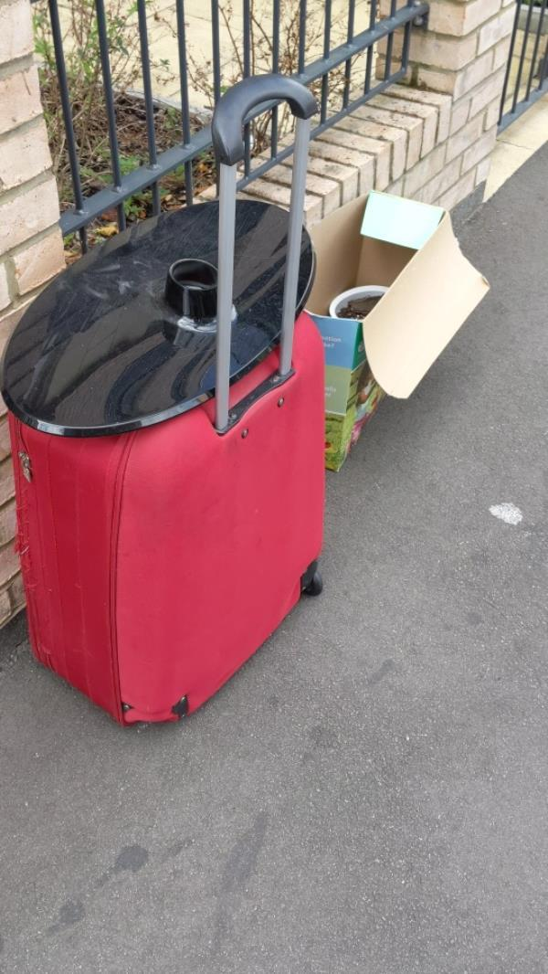 items dumped-74 Shipman Road, Canning Town, E16 3DT