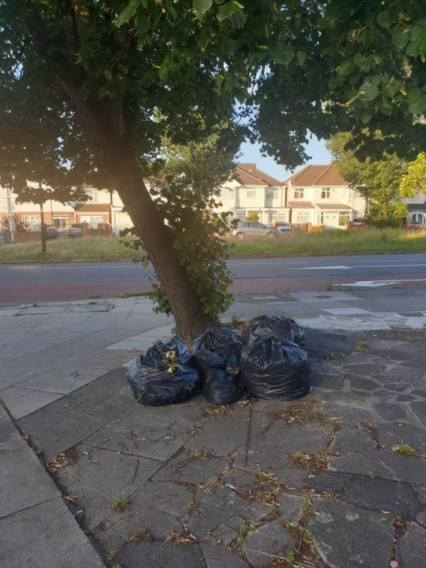 bags of garden waste-7 Upton Court Longford Avenue, London, UB1 3QW