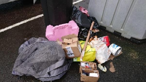 House old waste removedl fly tipping -142 London Road, Reading, RG1 3PA