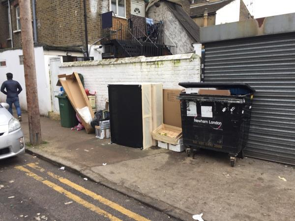 Packaging and bed frame-435 Barking Road, London, E6 2JX