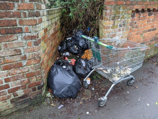 just piling up every day and now has a supermarket trolley parked in front... thanks for your help 😃-397 London Road, Reading, RG1 3PB