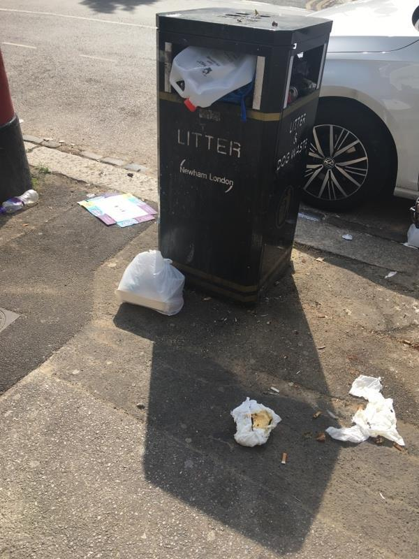 Filthy blowing down road-57A Field Rd, Forest Gate, London E7 9DN, UK