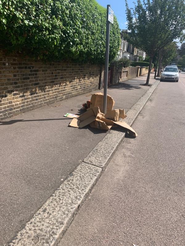 Dumping -35a Durham Road, London, E12 5AX