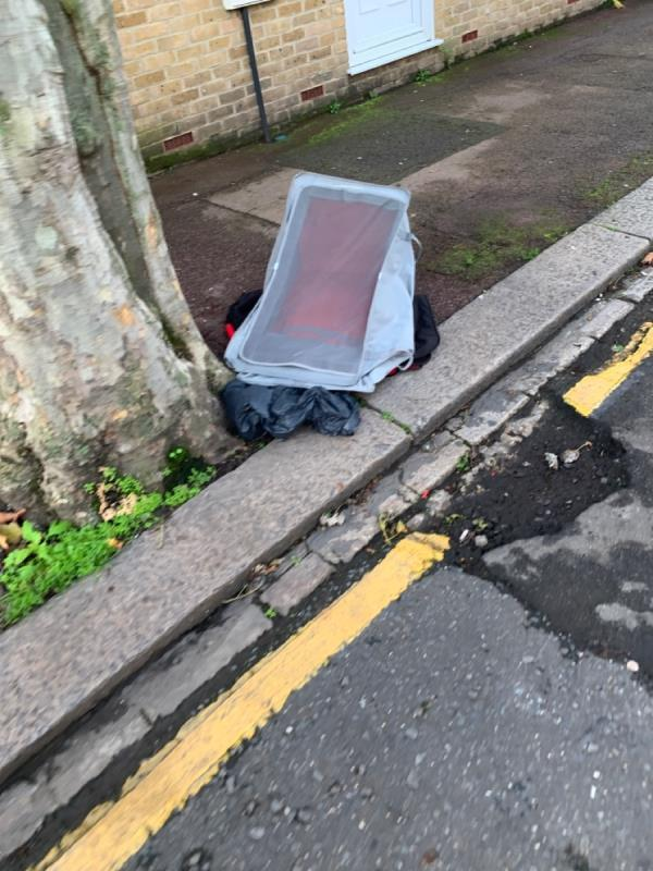 Flytipping  -61 Rothsay Road, London, E7 8LY