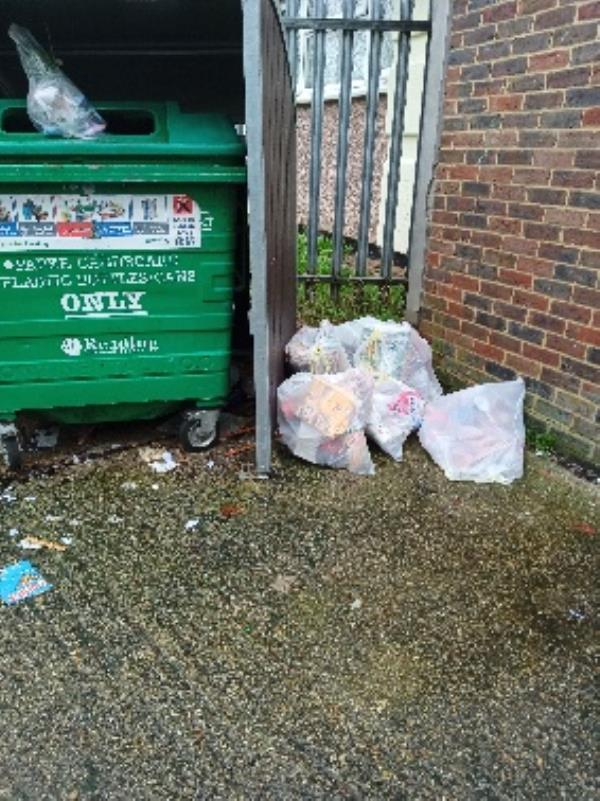 fly tipping 34 Granville road-36 Granville Road, Reading, RG30 3PY