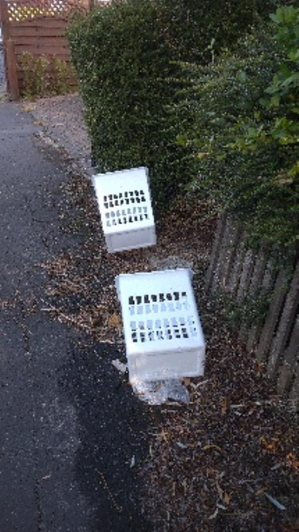 Flytipped items no evidence taken  image 1-53 Ashburton Road, Reading, RG2 7PA