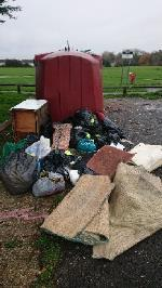 House old waste removed fly tipping on going at this site large amount removed image 1-1 Dunsfold Road, Reading, RG30 4NP