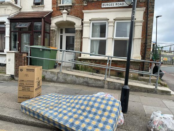 As seen in pictures -25 Burges Road, East Ham, E6 2BJ