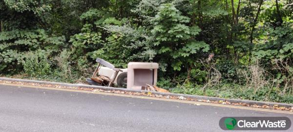 Please clear dumped furniture. Reported by Clear Waste-Sydenham rise