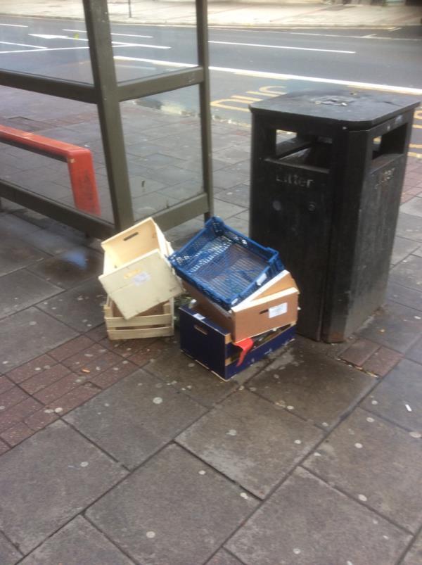 Outside Boleyn eye centre Mint-15 Barking Road, London, E6 1PW