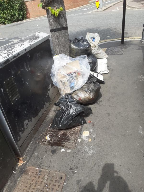 domestic  rubbish -11 Rixsen Road, Manor Park, E12 6RN