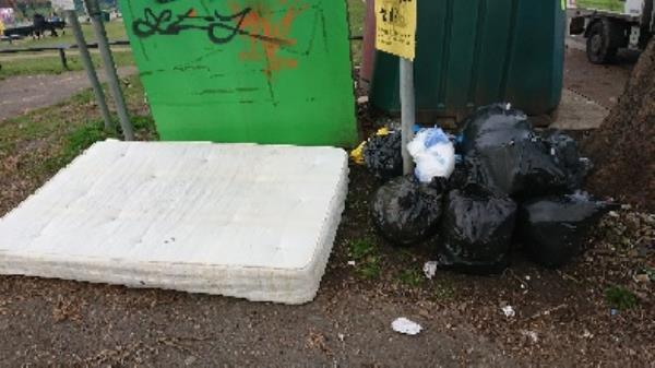 House old waste needs to be investigated before removal possible evidence. Two man lifted needed to remove mattress. -94 Cranbury Rd, Reading RG30 2TA, UK