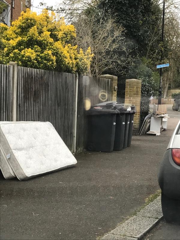 Mobile 10 job please clear mattresses and furniture outside flats 87-95 Lawrie Park Gardens-89 Lawrie Park Gardens, London, SE26 6HW
