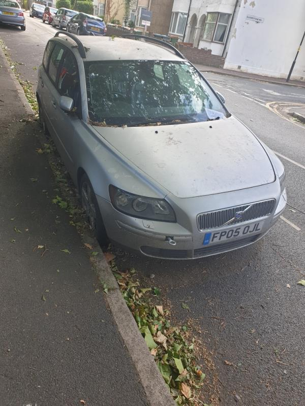 Abandoned vehicle parked near intersection of Church Rd and Alverstone Rd. MOT expired in February and so was Resident Parking Permit. Been parked there at least for two months.-345 Church Road, Manor Park, E12 6HT