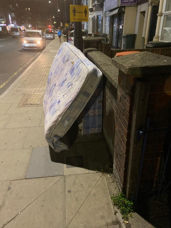 Bloody fly tipping -536 Green Street, Plaistow, E13 9AX