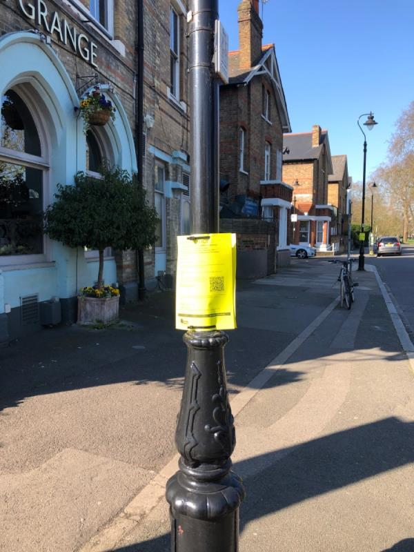 Planning notices-11a Elm Grove Road, London, W5 3JH