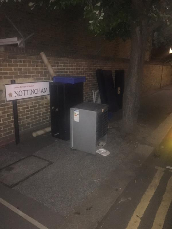 Blocking road -48 Tree Road, Canning Town, E16 3DZ
