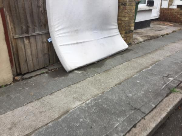 Mattress on greenleaf rd junction redclyffe rd-12 Redclyffe Road, East Ham, E6 1DS