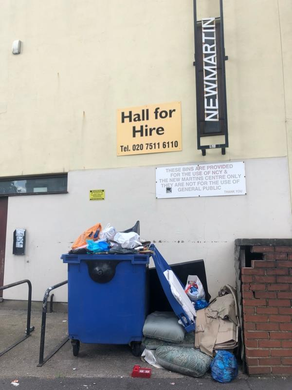 Fly tipping-24 Boundary Road, London, E13 9PR