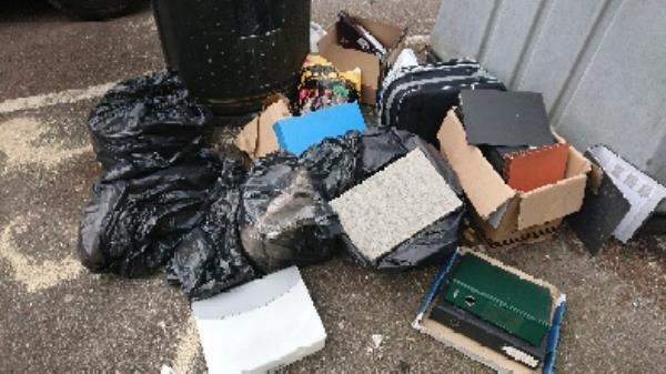 House old waste removed fly tipping on going at this site -255 London Road, Reading, RG1 3PA