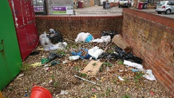 House old Waste removedl Fly tipping on going at this site  image 2-81 Erleigh Road, Reading, RG1 5NW