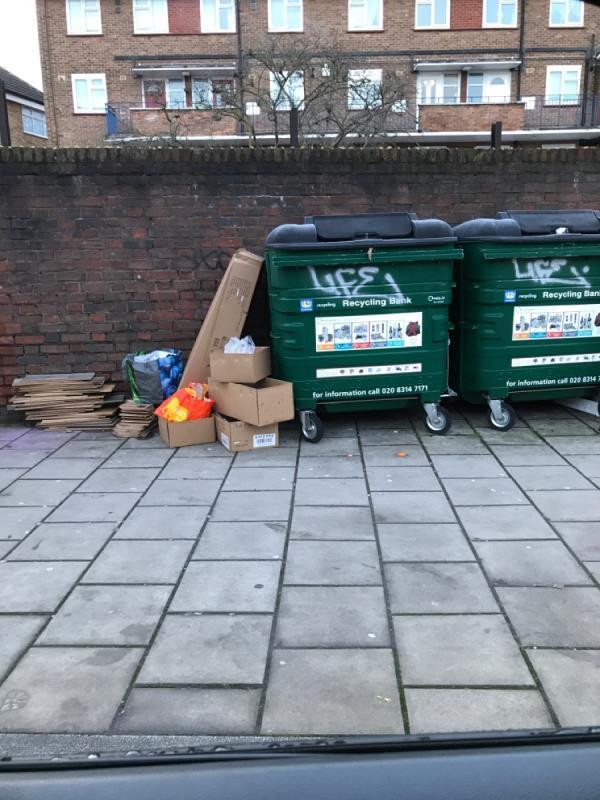 West mobile wood boxes-347-349 Sydenham Road, London, SE26 5TA