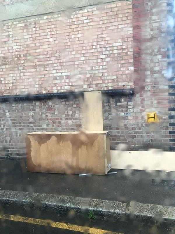 Fly tip again . 17 Ashby road dumped it! -21 Ashby Road, London, N15 4PF