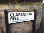Street sign  image 1-41 Clarendon Rise, London, SE13 5EX