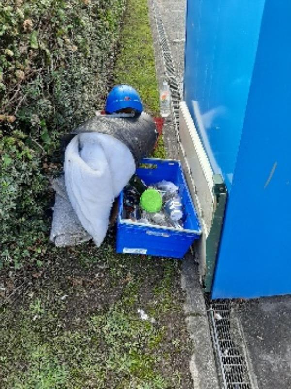 SEESL from NP Zone2 EBC 10th Oct 1pm please could you clear the fly tip behind the textile recycling bank in the council owned B&Q Lottbridge Drove.  thank you image 1-2c Marshall Road, Eastbourne, BN23 6QU