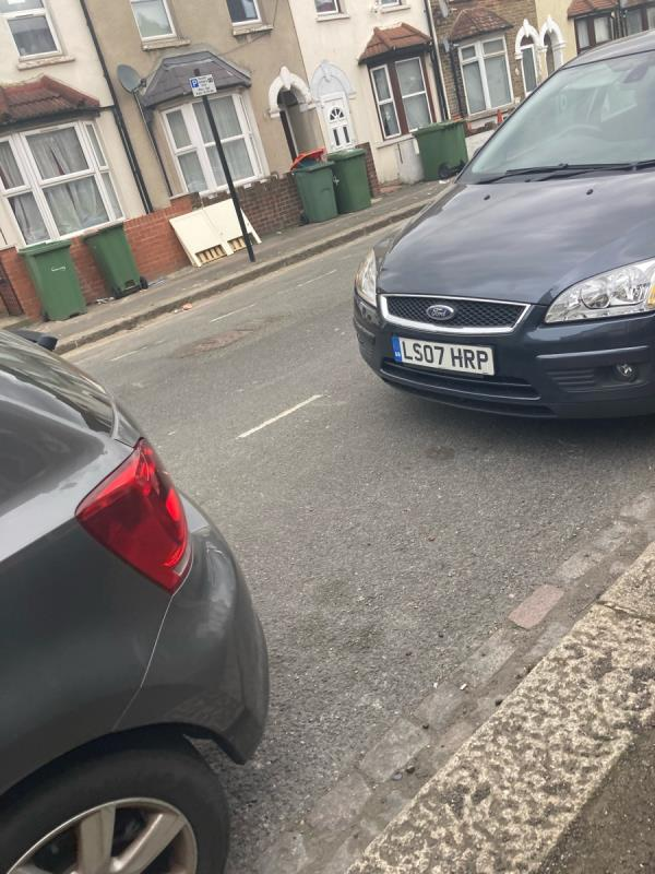 Rubbish left on the pavement -12 Winkfield Road, Plaistow, E13 0AR