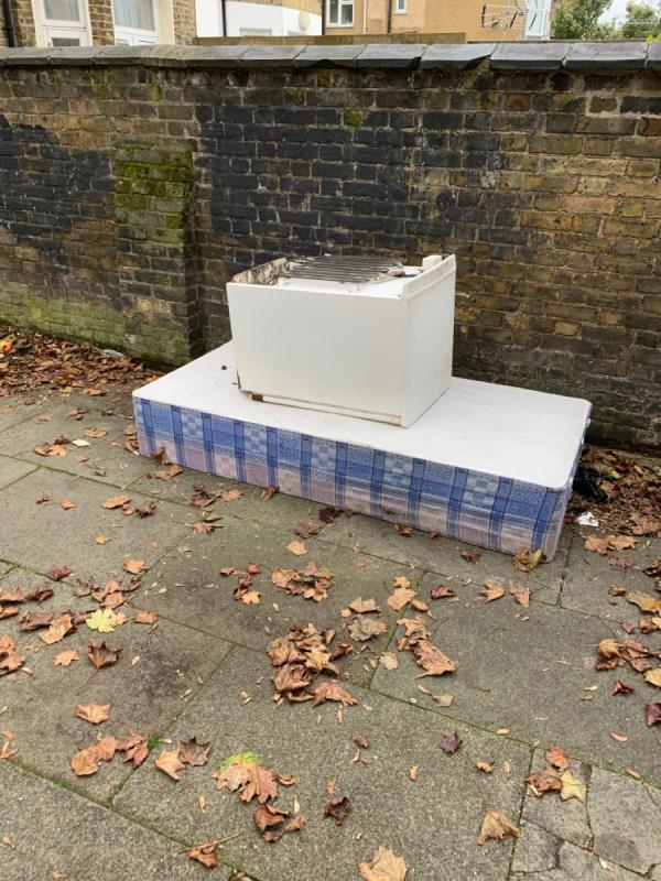 Please remove this flytip -119b Earlham Grove, London, E7 9AP