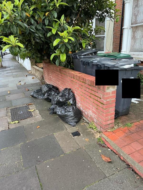 Dumped rubbish-97 Harringay Road, Seven Sisters, N15 3HU