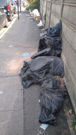 severe flytipping along entire road image 1-K6 Bridge Rd, Southall UB2 4AB, UK