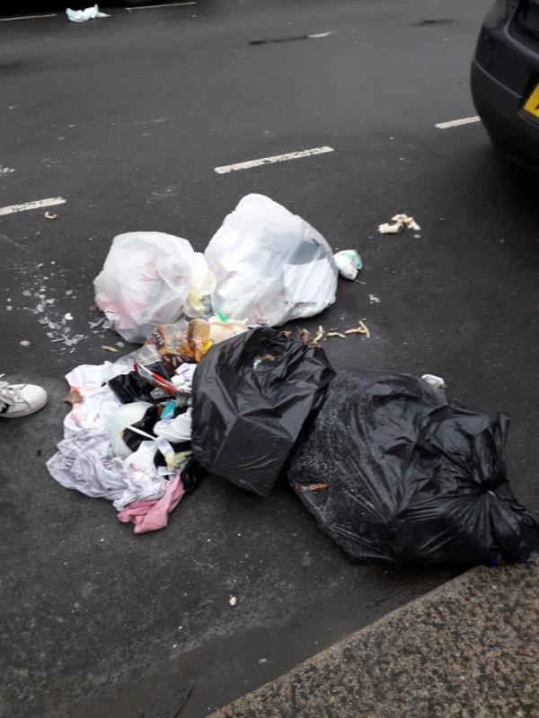 Domestic waste-77 Harcourt Road, London, E15 3DX