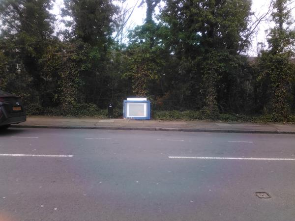 Old window frames have been left on the side of the road of Morley Road.  They're on the side of the road that's next to the railway line.-47B Morley Rd, London SE13 6DF, UK