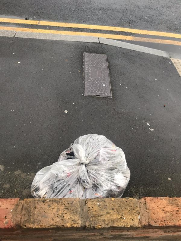 Rubbish dumped at the crosses of Station Road and Suffolk Street -51 Station Rd, Forest Gate, London E7 0EU, UK