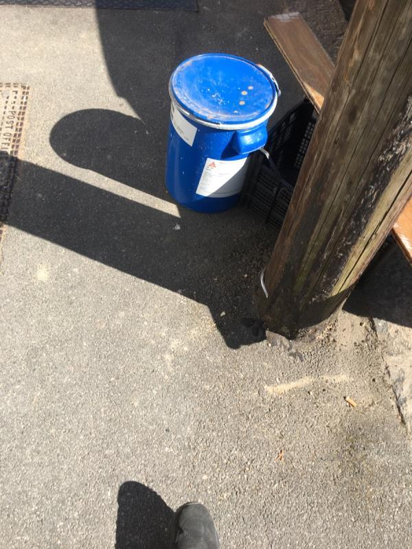 Fly tipping -297 Strone Rd, Manor Park, London E12 6TR, UK